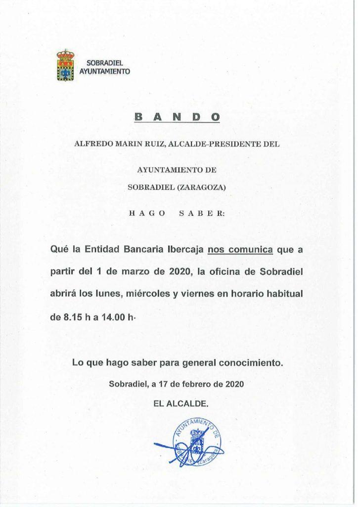 Bando Ibercaja