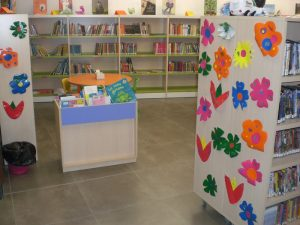Biblioteca de Sobradiel, primavera