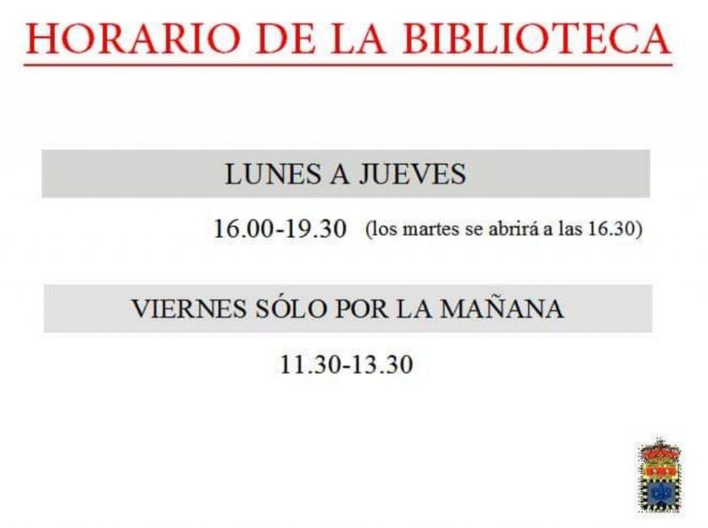 Horario Biblioteca